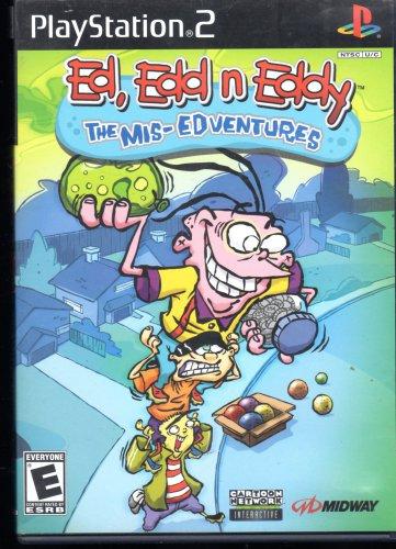 Ed,Edd N Eddy The Mis-Edventures Playstation 2 ( Complete)