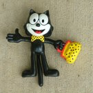 "FELIX THE CAT 1989 BENDY 5"" COMIC CHARACTER FIGURE BY APPLAUSE"