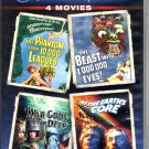 Midnight Movies 4 Movies on DVD