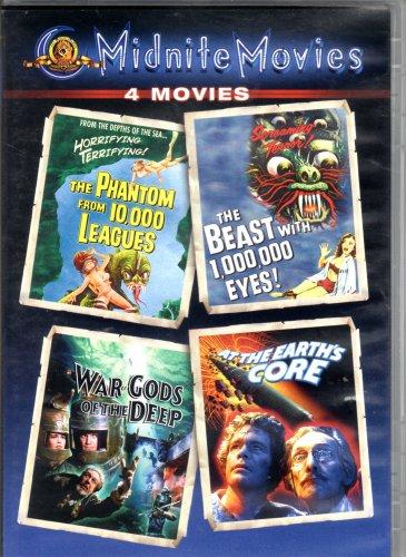 Midnight Movies 4 Movies on DVD