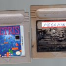 Two Nintendo Game Boy Games Mega Man & Tetris