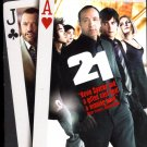 21 (DVD, 2008, Single Disc Version) casino Kevin Spacey black jack movie