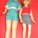 Vintage Pepper & Tammy  Dolls From Ideal