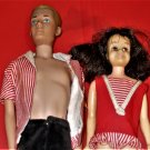 Vintage Ken Doll & Skipper Friend Skooter
