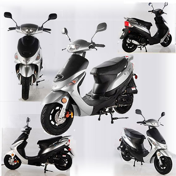 49CC ATM50A1 Moped
