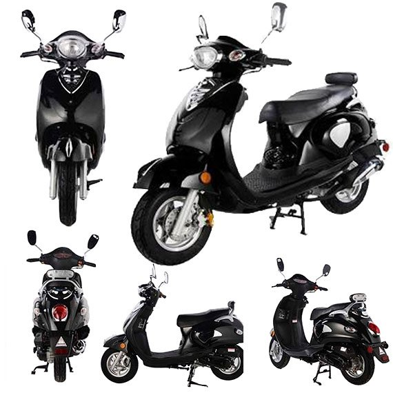 49CC CY50D Classic Moped