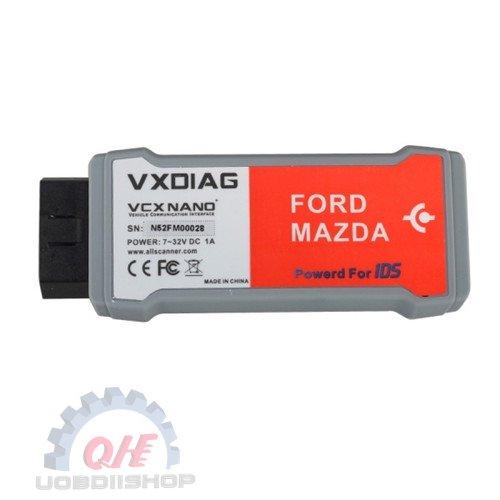 VXDIAG VCX NANO for Ford/Mazda 2 in 1 with IDS V100.01 Free Shipping