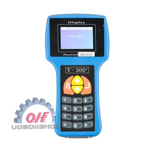 Best quality T300 key programmer English V2016.8 Blue