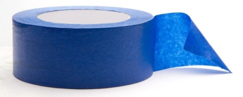 """6-Pack Blue Painter's Tape Multi-Purpose  2"""" x 60 yd. Rolls Made in USA"""