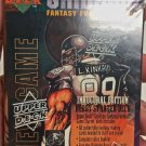 1995 Upper Deck GRIDIRON Fantasy Football Game Starter Deck Inaugural Edition