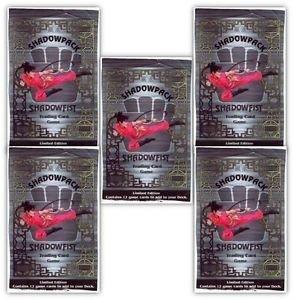 (5) Shadowfist CCG 1995 Limited Edition Shadow Packs Daedalus 12+ boys & girls