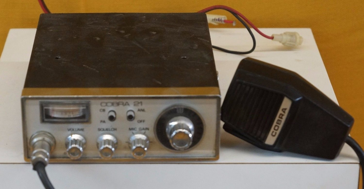 Vintage GE General Electric 3-5814A 40 Channel PLL System CB Radio Works!
