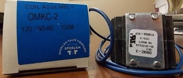 Sporlan OMKC-2 312809 Solenoid Coil Kit 120/50-60 - CAM