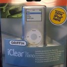 NEW Griffin iClear Case for iPod Nano 2G Clear Rigid Plastic Case 810-NCLEAR2