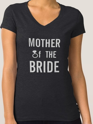 T-Shirt - Mother of the Bride Ring Bling