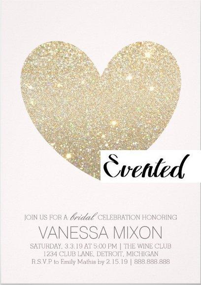 Invitation | Heart Fab Bride (Qty 10)