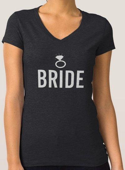 T-Shirt - Bride's Ring Bling