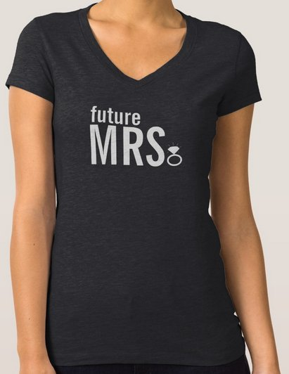 T-Shirt - Future Mrs. Ring Bling