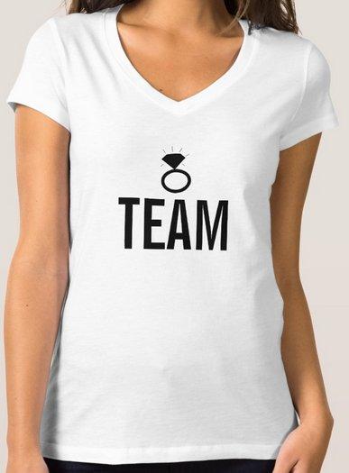 T-Shirt - Team's Ring Bling
