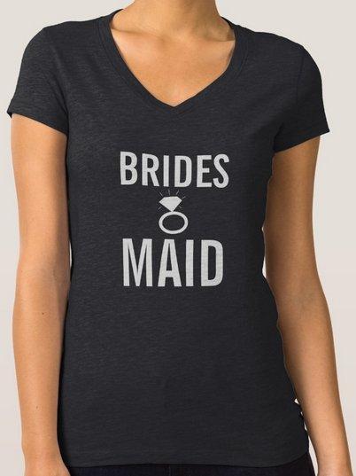 T-Shirt - Bridesmaid's Ring Bling