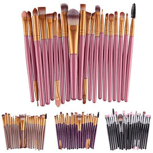 Makeup Set Powder Foundation Eyeshadow Eyeliner Lip Cosmetic Beauty Brushes