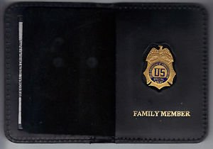 DEA Family Member Wallet with Mini Badge included (from MCO Quantico)