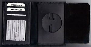 US Marshal Cut-Out Wallet holds ID Cards/Driver License/+ - (Badge Not Included)