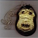 NYPD-Style Sergeant Badge CutOut Neck Hanger/Belt Clip Combo (Badge Not Included