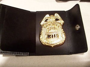 NYPD-Style-Sergeant Snap Wallet (Badge Not Included)