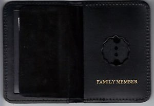NYPD-Style-Lieutenant Family Member Mini Wallet (Badge Not Included)