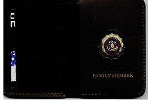 NYPD-Style-Lieutenant Family Member Mini Wallet (with Mini Badge Included)
