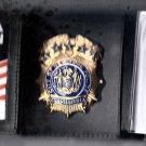 NYPD-Style-Commisioner Tri-Fold money/cc Wallet (Badge Not Included) CT09