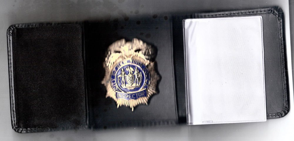 NYPD-Style-Inspector Tri-Fold money/cc Wallet (Badge Not Included) CT09