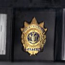 NYPD-Style-Captain Tri-Fold money/credit card Wallet (Badge Not Included) CT09