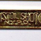 Pistol Shot Citation Bar as authorized by the NYPD-Patrol-Guide