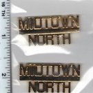 Midtown North Precinct Collar Brass (Manhattan) as per the NYPD-Patrol-Guide