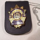 NYPD-Deputy Inspector -Style Cut-Out Shield & ID Neck Holder (Badge Not Included