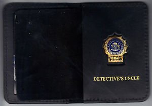 NYPD-Style-Detective Uncle Mini Wallet (with Random Numbered Mini)