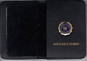 NYS Dept of Correctional Services Officer's Friend Wallet (Mini Badge Included