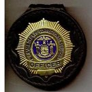NYS-DOCS Correction Officer's Badge Cut-Out Belt Clip - (Badge Not Included)