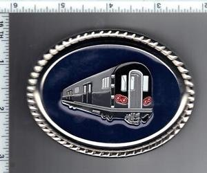 New York City Transit Subway Car Commemorative Belt Buckle