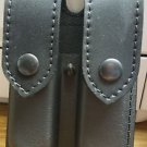Leather Duty Dual Magazine Holster used by most United States Police Departments