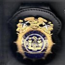 NYPD-Style Assistant Chief Badge Cut-Out Belt Clip (Badge NOT Included)