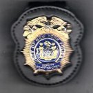 NYPD-Style Deputy Commissioner Badge Cut-Out Belt Clip (Badge NOT Included)