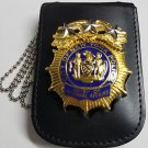 NYPD-Style Chief of Internal Affairs Shield/ID Neck Holder Badge/ID Not Included