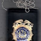 NYPD-Style Deputy Commissioner Shield/ID Card Neck Holder (Badge/ID Not Included