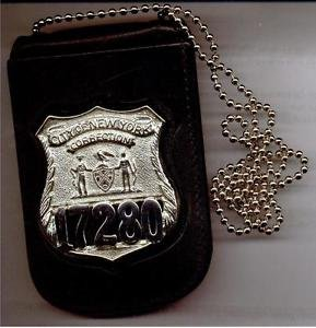 NYC Corrections Officer Badge/ID Card Neck Holder (Badge & ID Card Not Included)