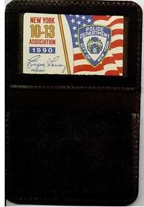 NYPD-Officer's Family Member Mini Wallet (w/Mini & 1990 10-13 Association Card)