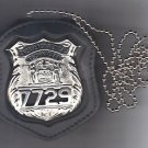 NYS EMT Police Officer Style Neck Hanger/Belt Clip Combo (Badge Not Included)