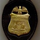 Philadelphia Police Detective Badge CutOut Small Belt Clip (Badge Not Included)